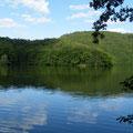 image du lac de la haute Sûre: Ardennes luxembourgeoises