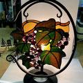 ブドウがガラスナゲットで表情が出ています。