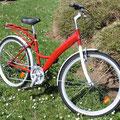 Vélo rouge standard