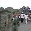 Chinesische Mauer: Sie gilt als das längste Bauwerk der Erde und verläuft über 6.000 km.