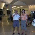 Flughafen Corpus Christi - Roswitha und Werner haben schon gewartet