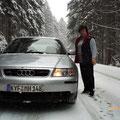 Fahrt von Bielefeld nach Göllingen - 09.01.2010