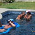 Viel Spaß hatten wir im Pool