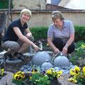 Ostern 2009 - Juliane und Margrid