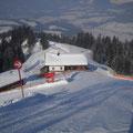 Skihütte Treichlhof direkt an der Skipiste  zur Hartkaiserbahn