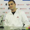 Михаил Южный на пресс-конференции