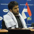 Янко Типсаревич на послематчевой пресс-конференции