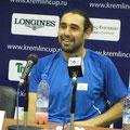 И вечно улыбающийся финалист турнира - Маркос Багдатис!