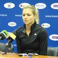 Мария Кириленко на послематчевой пресс-конференции