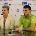 Марсель Гранольерс на пресс-конференции