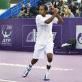 Раджив Рам в матче против Михаила Южного