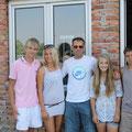 Ещё одно фото перед самым отъездом, с тренером по физподготовке Иваном Милойковичем