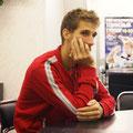 Он пока не знает, что через несколько дней добудет свой первый в карьере титул.