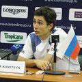 Игорь Куницын на пресс-конференции