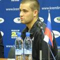 Михаил Южный на послематчевой пресс-конференции