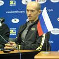 Николай Давыденко на послематчевой пресс-конференции