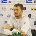 Пресс-конференция пока ещё гражданина США Алекса Богомолова младшего
