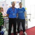 Андрей Голубев со своим первым тренером Сергеем Викторовичем Селивановым