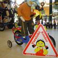 Kindersicherheit geht vor!