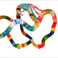 2010 ,  paper ,  aquarell ,  42 × 59,4 cm