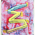 """ Club-Mate "" 30 x 26 cm, Acrylic on canvas, 2018"