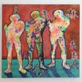 2013, canvas, aquarell, Acrylic, 170 x 180 x 4 cm