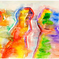 2013, paper, aquarell, Acrylic, 50 x 65 cm