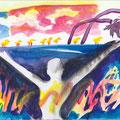 2013, paper, aquarell, Acrylic, 20 x 27 cm