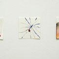 2015, Aquarell, Acryl, Ink, Paper, 10 x 10 cm x 3