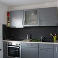 Die neue Einbauküche mit Ceranfeld, Ofen und Geschirrspüler