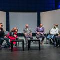 ZKM Zentrum fuer Kunst und Medien, Time is LOVE.10,  Marie Paule Bilger, Regina Huebner, Kay Welf Hoyme,  Abdul-Ganiou Dermani, Simone Still, Kisito Assangni. Photo: Marie Paule Bilger