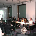 Austrian Cultural Forum Milan, 2004, during the symposium. G. Consonni, C. Sini, G. Galzio, S. Avallone, A. Rohsmann, R. Huebner. from sx to dx