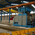 Factory for prestressed concrete products
