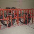 Coils for prestressed equipment