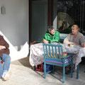 Karin, Roberto und Astrid