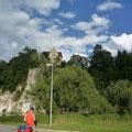Donauradweg bei Sigmaringen