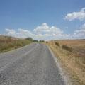 Ab Bulgarien geht es dann auf Landstrassen weiter und öfters mal bergauf