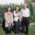 Amarouk mit seinen neuen Besitzern Hanne und Werner Hager