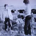 Familie Pusch im Moor