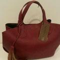 Handtasche, Kunstleder, Farbe: bordeaux, 59,95€, Schuhmoden und Meißner Straße