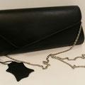 Clutch, Leder, Farbe: schwarz, 64,95€, Schuhmoden