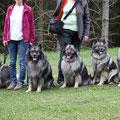 Familienportrait. V.l.n.r.: Nichte Ilvy, ich, Mama Brigge, Schwester Ganja, Neffe Ingo