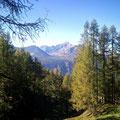Die Berge, zu schön.....