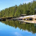 Petzen, der See am Start des Trails
