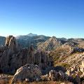 Winnetou Mountain im südlichen Velebit nahe Paklenica NP. Hier oben auf ca. 2000m lagen einige der Drehorte.