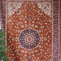 Ghom Seide, 100 % rhein seidenteppich, 200 x300