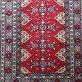 Pakistan, Wolle auf Baumwolle, 132 x 0,92