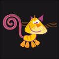 Gato espiralado