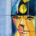 Sónoman, personaje de historieta. Homenaje a Oswal, su creador.