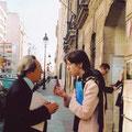 Avec prof. Tadeusz Chmielewski, Paris 2003